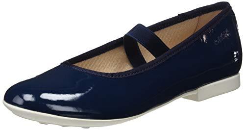 Geox Mädchen JR PLIE' D Geschlossene Ballerinas, Blau (Navy C4002), 33 EU