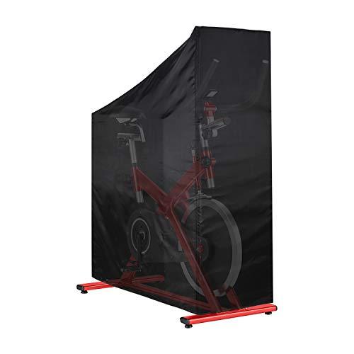 Esercizio Copertura Della Bici Upright Indoor Ciclismo Copertura Protettiva Impermeabile Protezione Solare Antipolvere Bici Copertura 124x58x117/147 cm