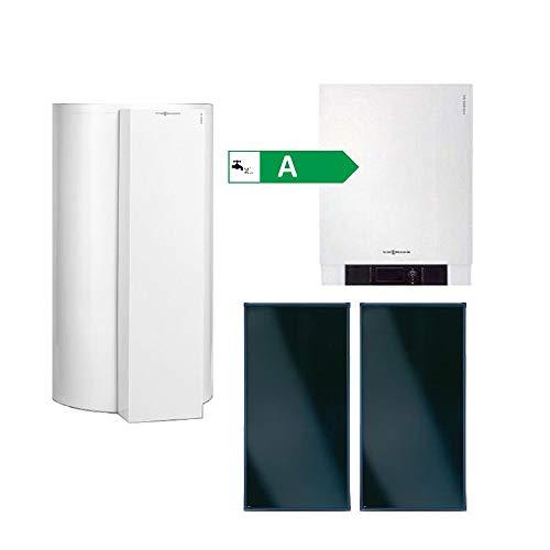 Viessmann Paket Vitodens 200-W 19 kW Gasbrennwert Therme Solar Vitososl 200-FM