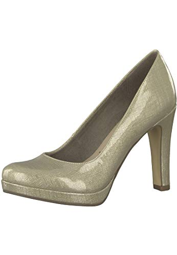 Tamaris Damen Pumps 1-1-22426-29-405 beige 302201