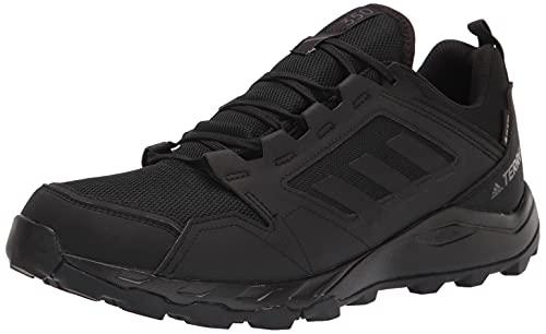 adidas Men's Terrex Agravic TR Gore-TEX Trail Running Shoes Cross Trainer, Black/Black/Grey, Numeric_13
