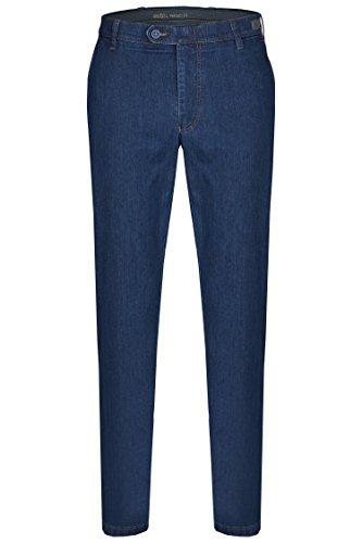 aubi: Herren Sommer Jeans Hose Stretch aus Baumwolle High Flex Modell 526 Dark Stone Größe 28