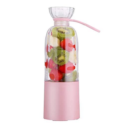 YGD Tragbarer Obst- und Gemüsesaftpresse, wiederaufladbarer Usb-Saftmixer, kaltgepresste Saftpresse zur Herstellung von frischem und gesundem Gemüse und Säften