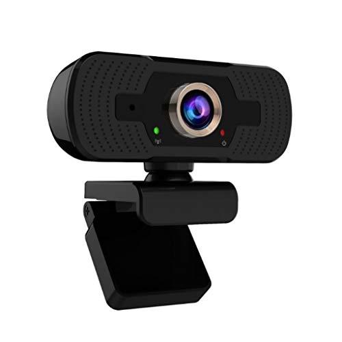 N/A/ Webcam mit integriertem Mikrofon USB PC Laptop Tragbare Webkamera mit Privatsphäre Abdeckung für Livestream Video Anruf Gaming On