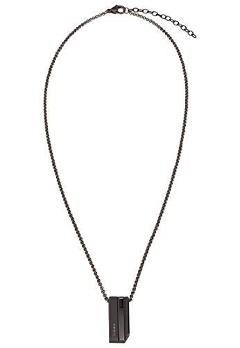 BREIL - Collar en acero Colección JOINT con colgante y acabados pulidos/satinados para hombre