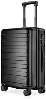 NINETYGO 20 Inch Carry On Luggage, 100% Polycarbonate Hardside Suitcase Luggage With TSA Approved Lock for Business & Travel, 360° Rolling Spinner Wheels, Black