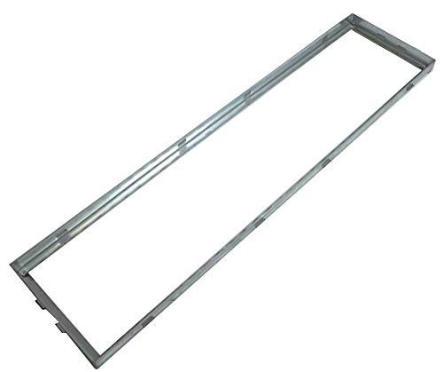 Zarge frame hoekframe 100x25 cm staal verzinkt toebehoren voor voetenveger rooster
