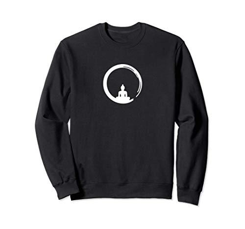 Enso, Zen, Kreis, Buddha Meditation Japan Kalligrafie Yoga, Sweatshirt