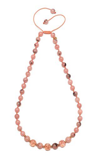 Lola Rose Women Pink Quartz Strand Necklace of Length 44cm 717991
