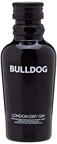 Botellita miniatura ginebra Bulldog 5cl