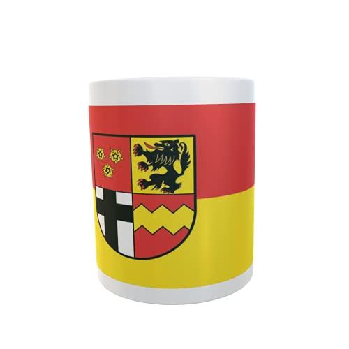 U24 Tasse Kaffeebecher Mug Cup Flagge Kreis Euskirchen