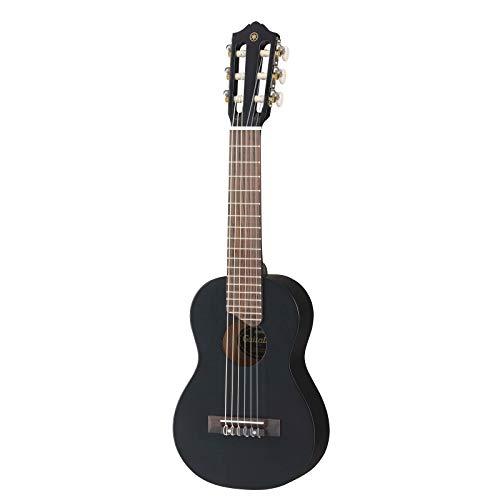 Yamaha Acoustic Guitalele, GL1 - Ein Hybrid aus Gitarre und Ukulele (70 cm) mit 6 Saiten (3 Nylon / 3 Metall umsponnen, allgemein als Nylonsaitensatz bekannt) und passender Yamaha Gig Bag - Schwarz