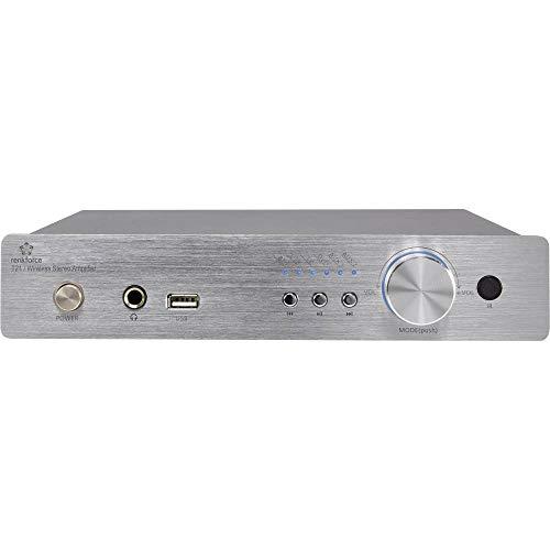 Renkforce T21 Stereo-Verstärker 2 x 50W Aluminium Bluetooth®, USB