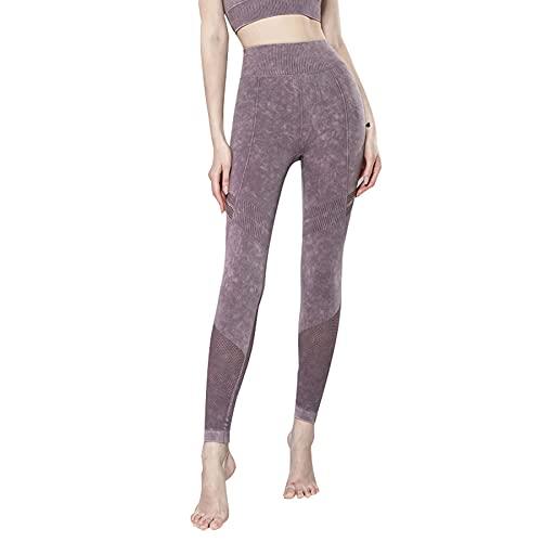 JNWBFC Pantalones De Yoga Pantalones De Mujer Mallas Leggings Elásticos Camuflaje Sin Costuras Cintura Alta Ejercicio Físico Push Up Gimnasio Deporte Correr