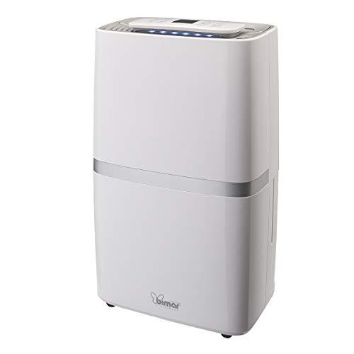 Bimar Luftentfeuchter DEU322 Kapazität 20L/24h, Kompressor mit Kühlmittel R290, Tramite WiFi, kompatibel mit Alexa, Google Assistant und unterstützt IFTTT, tragbarer Klimaanlage