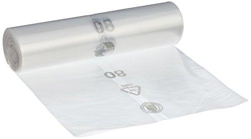 Sopsäckar DEISS PREMIUM transparent, typ 60, 70 L