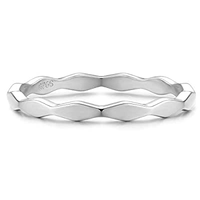 stackable rings sterling silver