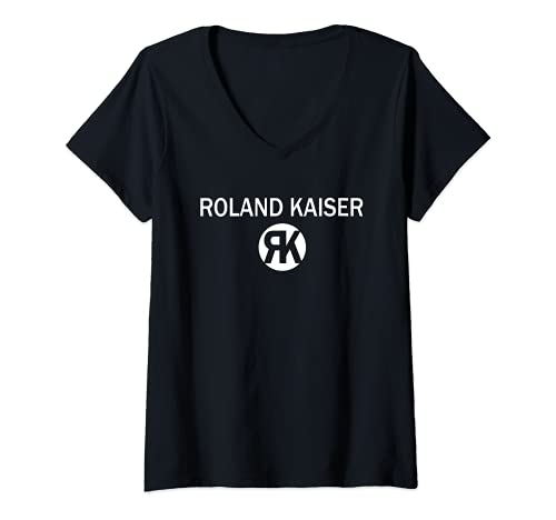 Damen Roland-Kaiser StarDE T-Shirt mit V-Ausschnitt