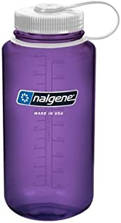 Nalgene Bottle 32 oz Wide Mouth with Closure Sports - Purple Colors