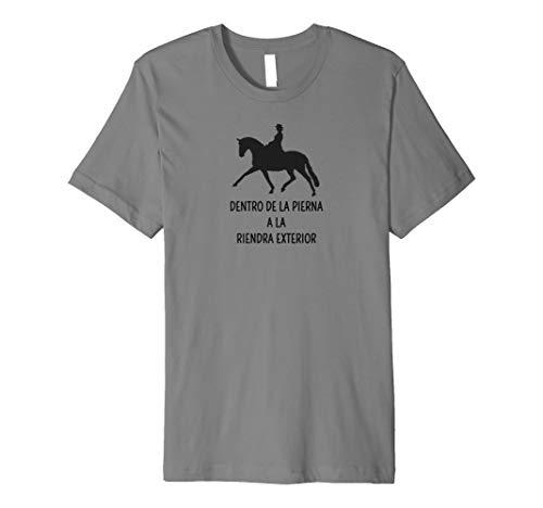 Innen Bein nach außen Zügel DRESSUR Spanisch Pferd Hemd