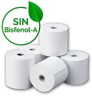 Amazon.es: Rollos de papel térmico: Oficina y papelería