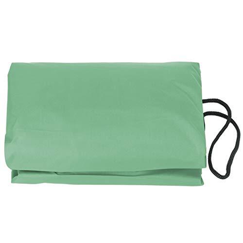 Rosvola Suministros para Piscinas, Cubierta de Piscina, Cubierta de Caja de Arena Cubierta Cuadrada Impermeable para(Green, 120 * 120 * 20cm)