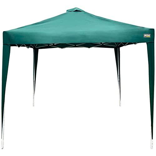AKTIVE 61056 Cenador Plegable para jardín Verde