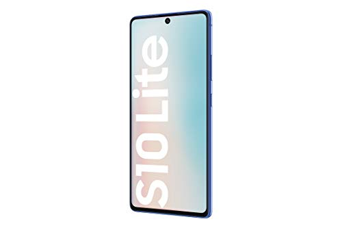 Samsung Galaxy S10 Lite - Smartphone 128 GB, 8 GB RAM, 4500 mAh, 4G, Dual Sim, Android 10, [Italienische Version], Prism Blue