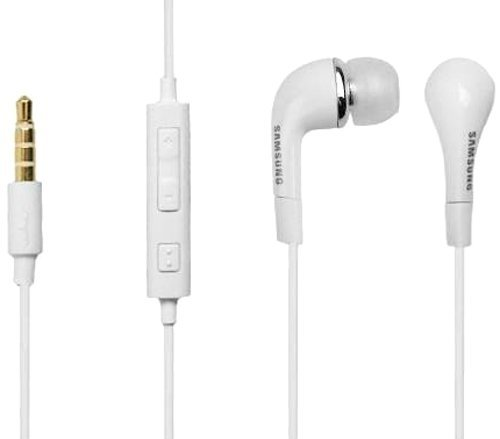 Samsung Original Weiß In-Ear-Stereo-Headset mit Lautstärkeregler in Großpackungen - Packung 25 Passend Galaxy A3 (2016) SM-A310, Galaxy A5 (2016) SM-A510, Galaxy A7 (2016) SM-A710, Galaxy J3 SM-J300