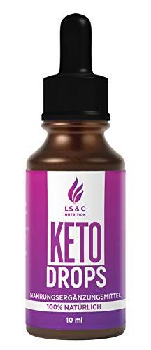 KETO DROPS | EXTREM | Ketogen Tropfen | SCHNELL | EINFACH | 10 ml (Keto Drops 1)