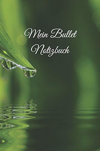 Mein Bullet Notizbuch: Mein 370 Seiten Wassertropfen-Tropfen-Pearls Bullet Diary Journal Das kreative Journal zum Ausfüllen und Gestalten