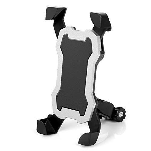 WYW Soporte Movil Bicicleta,3.5-6.5' Smartphones, Cuatro Esquinas Arregladas, Soporte Movil Moto con Rotación 360°, Soporte para Teléfono de Bicicleta de, Soporte Movil Bici Universal,2