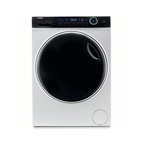 Haier HW100-B14979 Freestanding Washing Machine, 10kg Load, 1400RPM, White