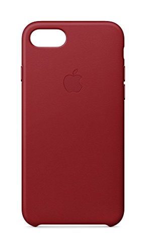 Apple Leder Case (iPhone 8 / iPhone 7) - (PRODUCT) RED