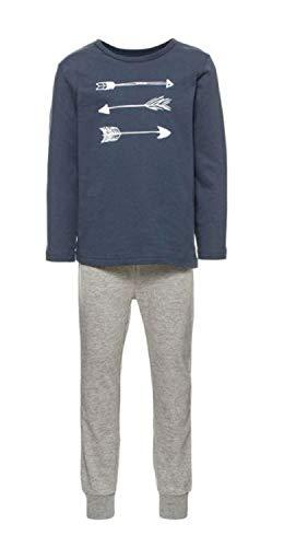 NAME IT NAME IT Baby-Jungen NMMNIGHTSET Grey Mel NOOS Zweiteiliger Schlafanzug, Mehrfarbig Melange, 86