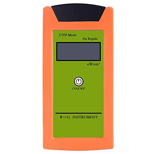 Varadyle RGM-UVB UVB Tester Detector UVB de Alta PrecisióN Instrumento de Prueba UVB para Medidor de Reptiles UVB Herramienta de MedicióN de Luminosidad