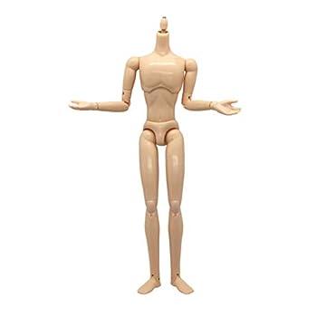 Obitsu 1/6 Scale 10.6 inches Male Body 27BD-M03N Base Model Natural Skin Color