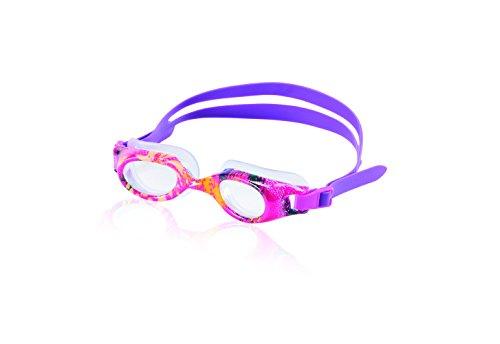 Speedo Unisex-child Swim Goggles Hydrospex Ages 6-14 , Pink