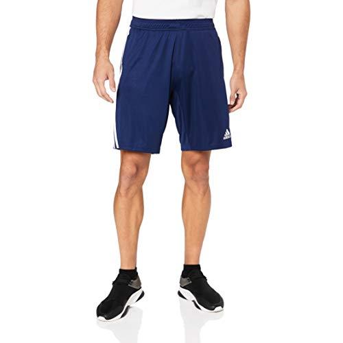 adidas Short da Allenamento Tiro 19, Pantaloncini Uomo, Blu (Dark Blue/White), L