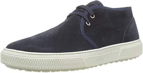 Frau Sneakers, Sneaker a Collo Alto Uomo, Blu (Blu Blu), 43 EU