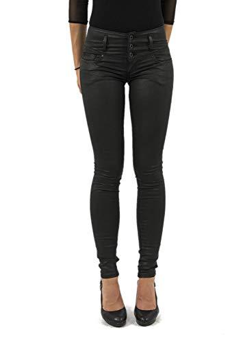 Salsa Jeans Mystery Jean Skinny, Noir (Negro 0000), 26 Femme