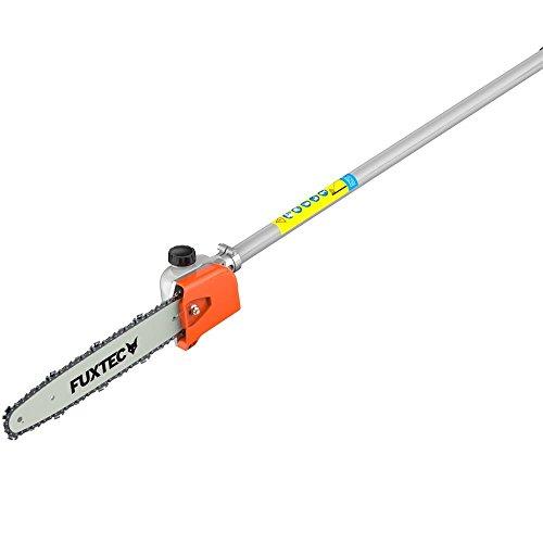 Astsägenaufsatz Hochentaster mit Schwert+Kette 9-Zahn für FUXTEC Multitool-Systeme FX-MS152, FX-MT152, FX-MT152E