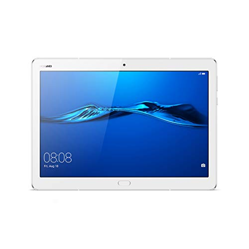 Huawei Mediapad M3 Lite Tablet LTE CAT4, Display 10 , CPU Qualcomm MSM8940, Octa-Core, Memoria RAM 3 GB, ROM 32 GB, Bianco