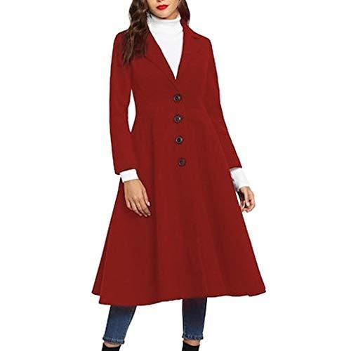Shinehua trenchcoat voor dames vrouwen lange jas overgangsjas modern elegant lange windjack dikker outwear parka cardigan windjack