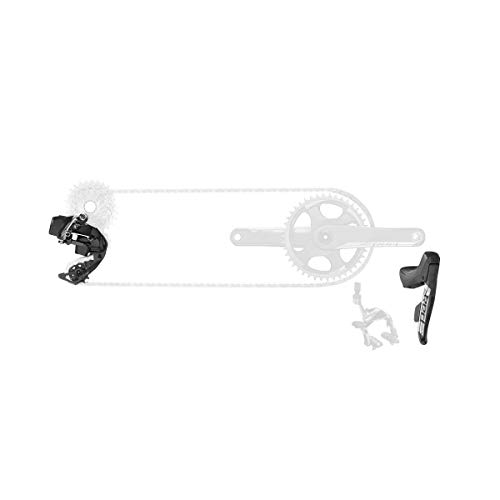 Sram Etap Axs 1X D1 Electronic Road Groupset (Shifters, Rear Der Battery, Charger Cord, and Quick Start Guide) Grupo, Unisex Adulto, Negro, Talla única