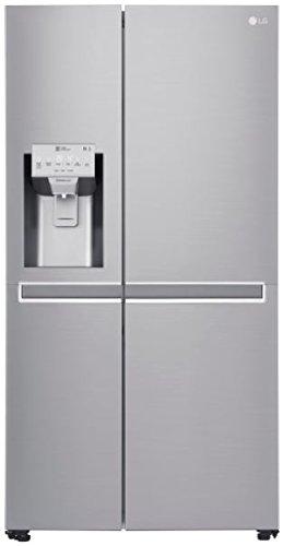 LG Electronics GSL 961 NEBF Side-by-Side/A+++ / 179 cm / 251 kWh/Jahr / 405 L Kühlteil / 196 L Gefrierteil/Inverter Linear Kompressor/No Frost/edelstahl