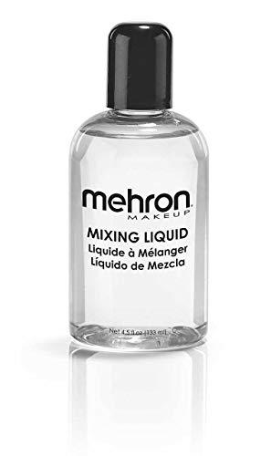 Liquido Miscelatore Mehron Professional 133ml da Usare con Polvere Metallica