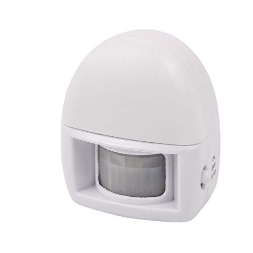 X-DREE Lampada portatile a induzione infrarossa a LED PIR 3 LED(Lámpara de inducción humana infrarroja PIR 3 LED portátil
