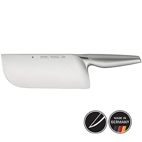 WMF Chef's Edition Chinesisches Kochmesser, 31,5 cm, Spezialklingenstahl, Messer geschmiedet, Performance Cut, Holzkassette, Klinge 20 cm