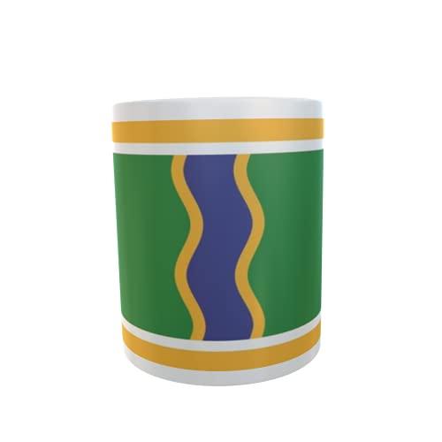 U24 Tasse Kaffeebecher Mug Cup Flagge Andorra la Vella